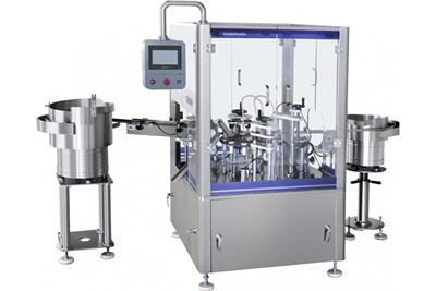 Pressure Filling Machine, Mascara Packaging