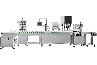 Automatic Inline Filling Line, Lotion Packaging