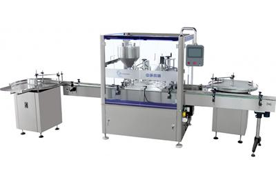 Pressure Filling Machine with Capper, Liquid Foundation Packaging