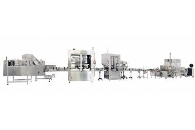 Oil Filling Packaging Line