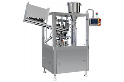 Soft Metal Tube Filler Machine with Sealer